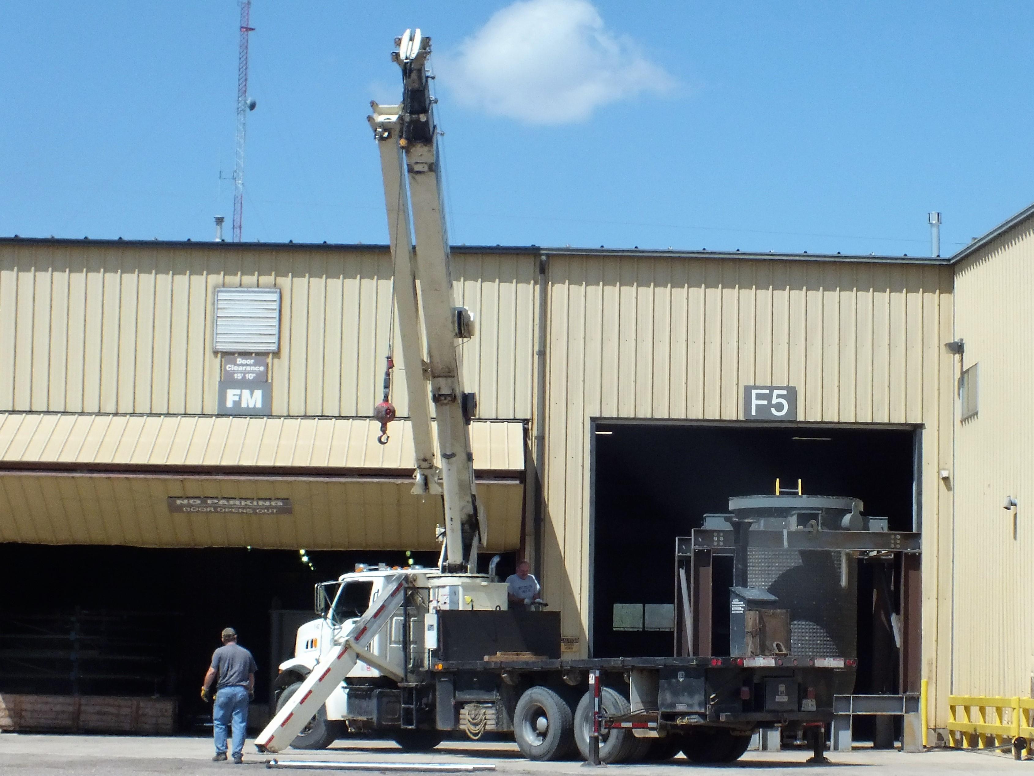 On Site Crane services