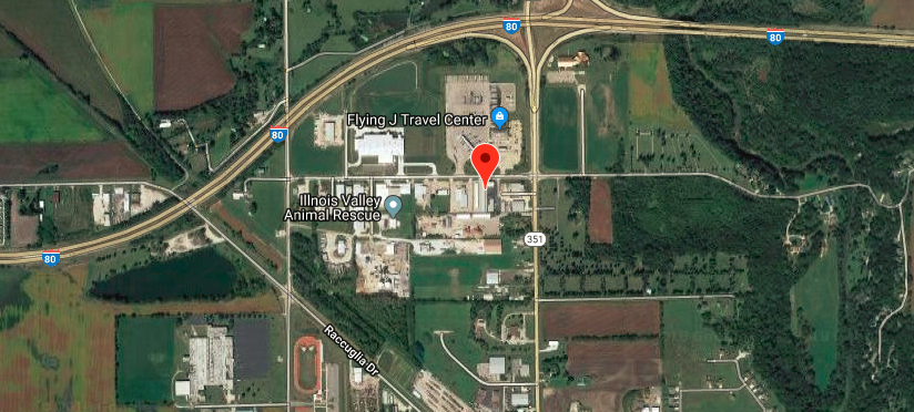 Location of On Site Repair Services, Inc. in LaSalle, IL.