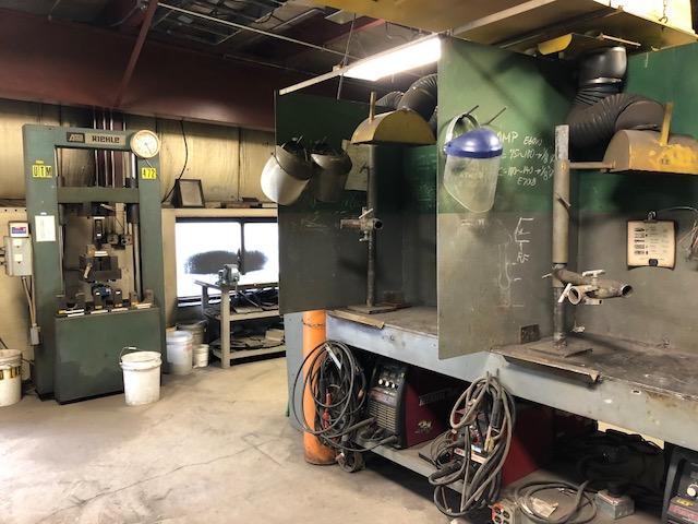 Machinery Maintenance AWS Training facility